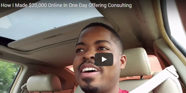 How I Made $20,000 In One Day Online